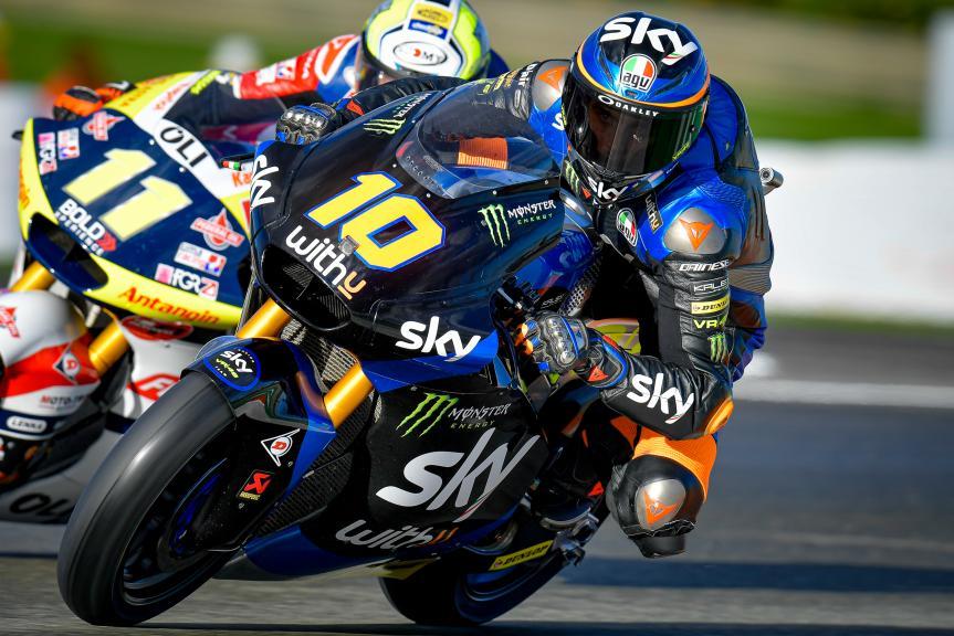 Luca Marini, SKY Racing Team Vr46, Gran Premio de Europa