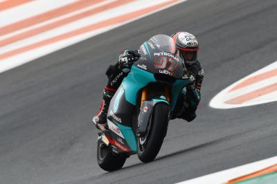 Vierge snatches mixed condition Moto2™ pole