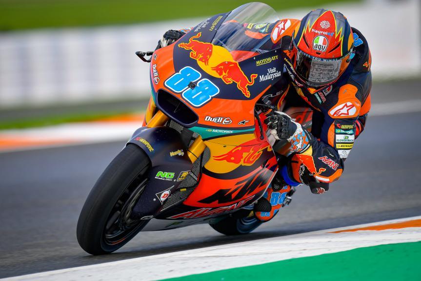 Jorge Martin, Red Bull KTM AJO, Gran Premio de Europa