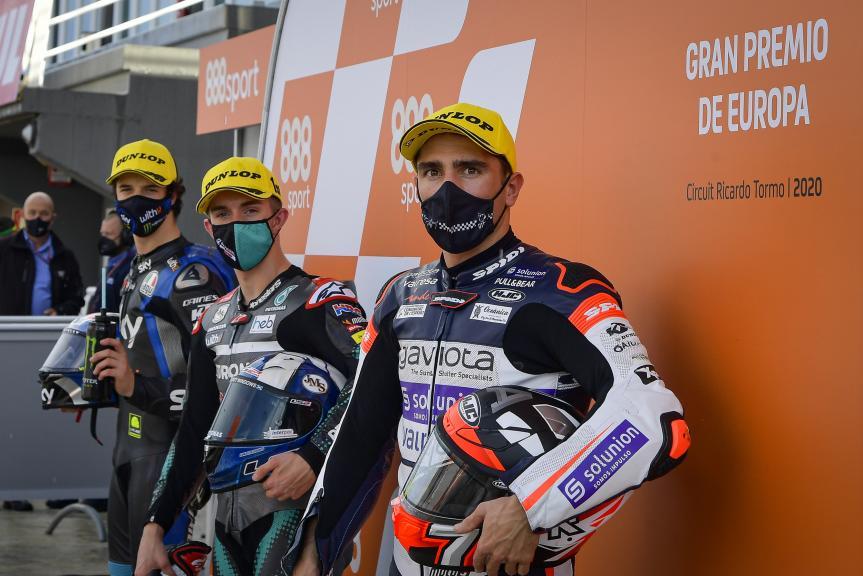 Arenas, McPhee, Vietti, Gran Premio de Europa