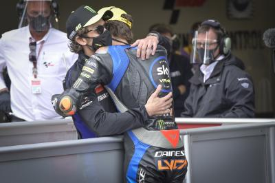 Rossi excited to share track with brother Marini in MotoGP™