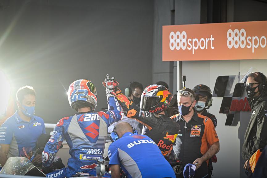 Pol Espargaro, Alex Rins, Gran Premio de Europa