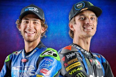 Bastianini e Marini, compagni di squadra in MotoGP™ nel 2021