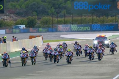 Red Bull MotoGP Rookies Cup : Course 9 à Valence