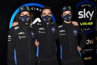 Bezzecchi accoglie Vietti al box Moto2™ nel 2021