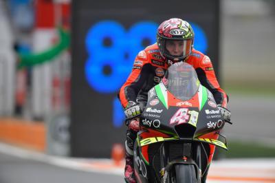 Aleix Espargaro handed three-place grid penalty