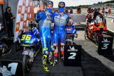 Joan Mir, Alex Rins, Team Suzuki Ecstar, Gran Premio de Europa