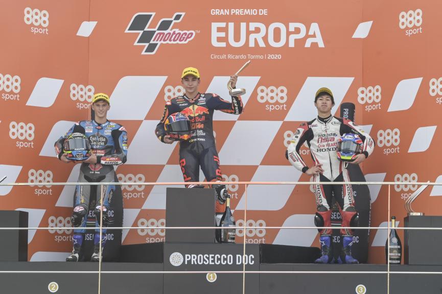 Raul Fernandez, Sergio Garcia, Ai Ogura, Gran Premio de Europa