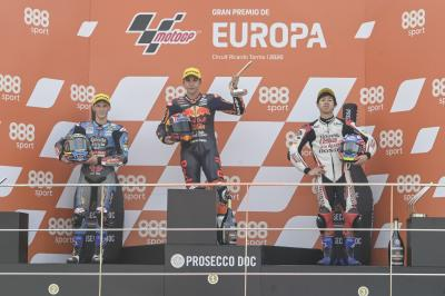 """I'll never forget this victory"" - Moto3™ rostrum round-up"