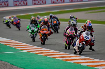 Ogura parte alla carica per conquistare il titolo Moto3™
