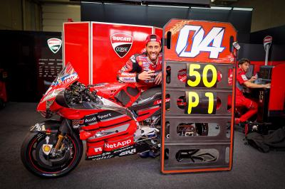 The best moments of Andrea Dovizioso's Grand Prix career