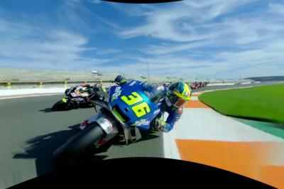 OnBoard: MotoGP™ race start in full 360 degrees view