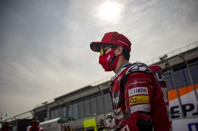 Why is Dovizioso taking a sabbatical in 2021?