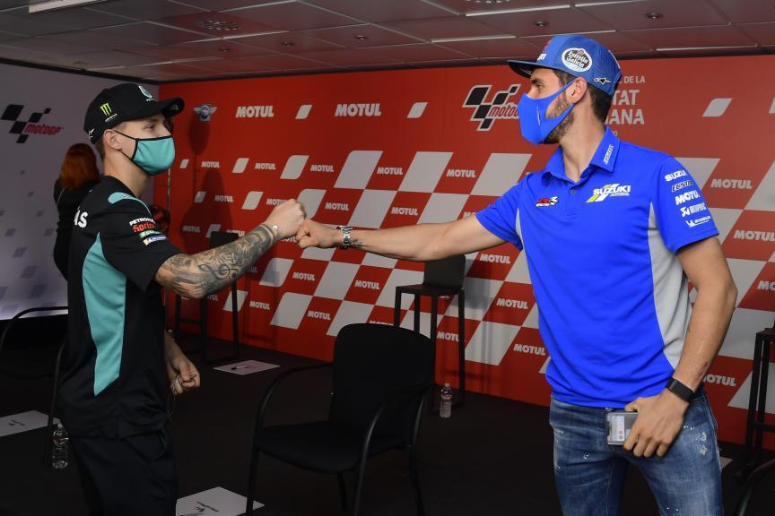 Fabio Quartararo, Alex Rins, Gran Premio Motul de la Comunitat Valenciana