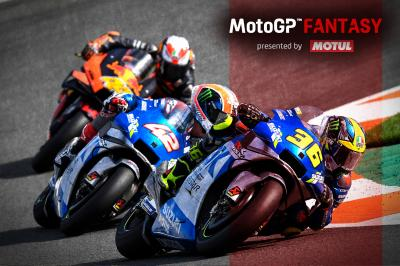MotoGP™ Fantasy: ¿Rins o Mir? ¿KTM o Suzuki?