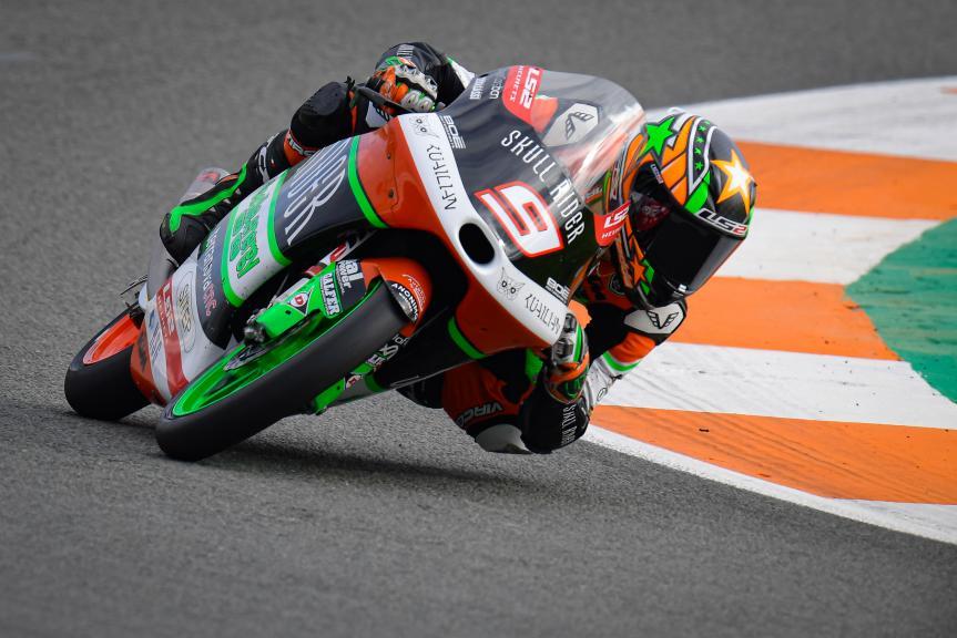 Davide Pizzoli, BOE Skull Rider Facile.Energy, Gran Premio Motul de la Comunitat Valenciana