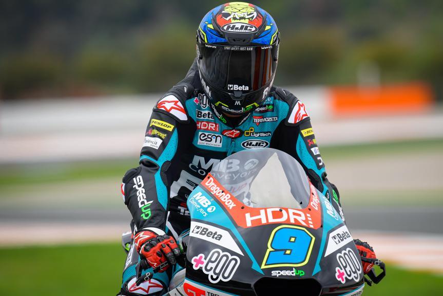Jorge Navarro, Termozeta Speed Up, Gran Premio Motul de la Comunitat Valenciana