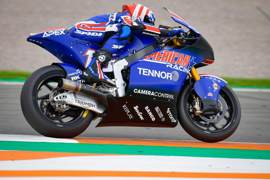 Joe Roberts, Tennor American Racing, Gran Premio Motul de la Comunitat Valenciana