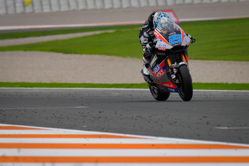 Marcel Schrotter, Liqui Moly Intact GP, Gran Premio Motul de la Comunitat Valenciana
