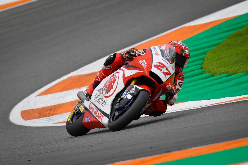 Andi Farid Izdihar, Idemitsu Honda Team Asia, Gran Premio Motul de la Comunitat Valenciana