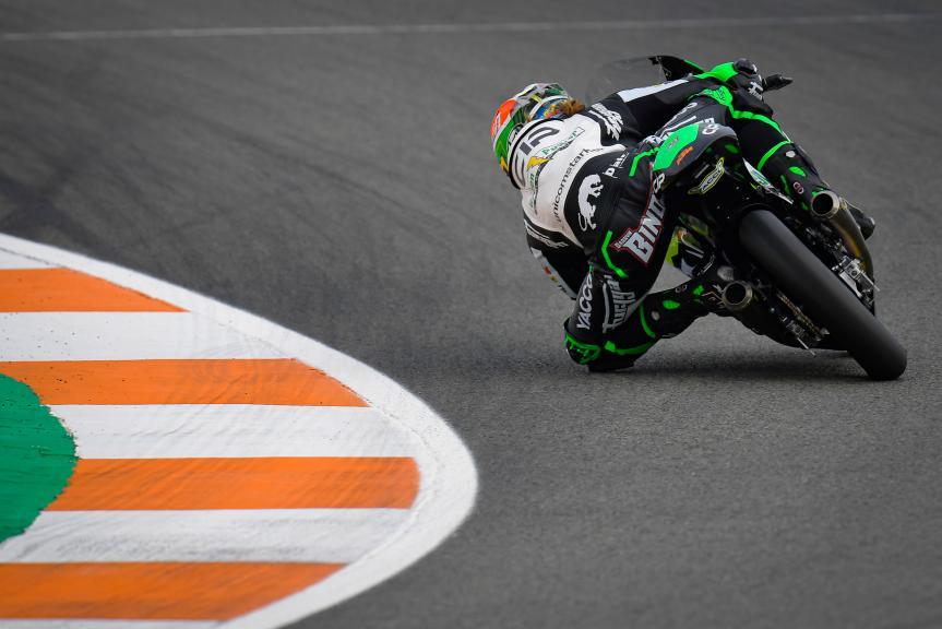 Darryn Binder, CIP Green Power, Gran Premio Motul de la Comunitat Valenciana