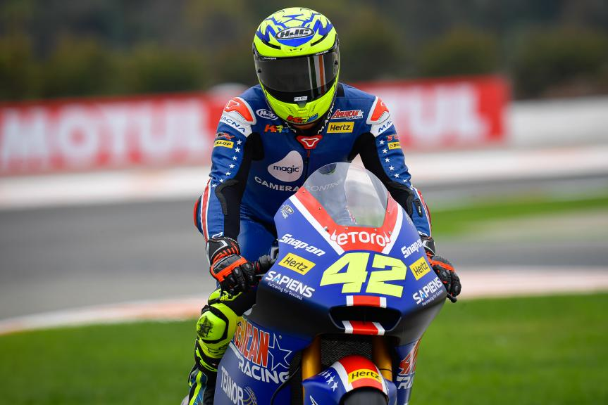 Marcos Ramirez, Termozeta Speed Up, Gran Premio Motul de la Comunitat Valenciana