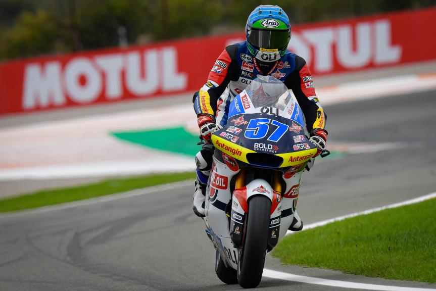 Edgar Pons, Federal Oil Gresini Moto2, Gran Premio Motul de la Comunitat Valenciana