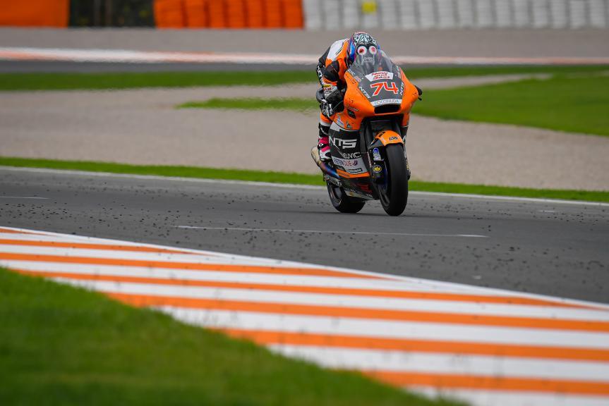 Piotr Beisiekirski, NTS RW Racing GP, Gran Premio Motul de la Comunitat Valenciana