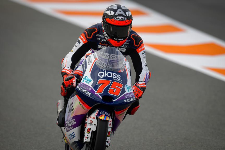 Albert Arenas, Gaviota Aspar Team Moto3, Gran Premio Motul de la Comunitat Valenciana