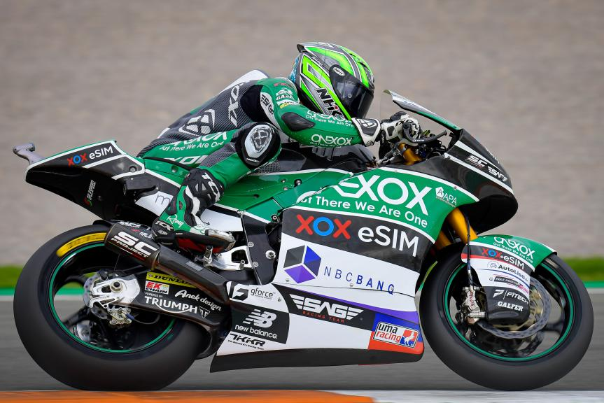 Remy Gardner, Onexox TKKR Sag Team, Gran Premio Motul de la Comunitat Valenciana