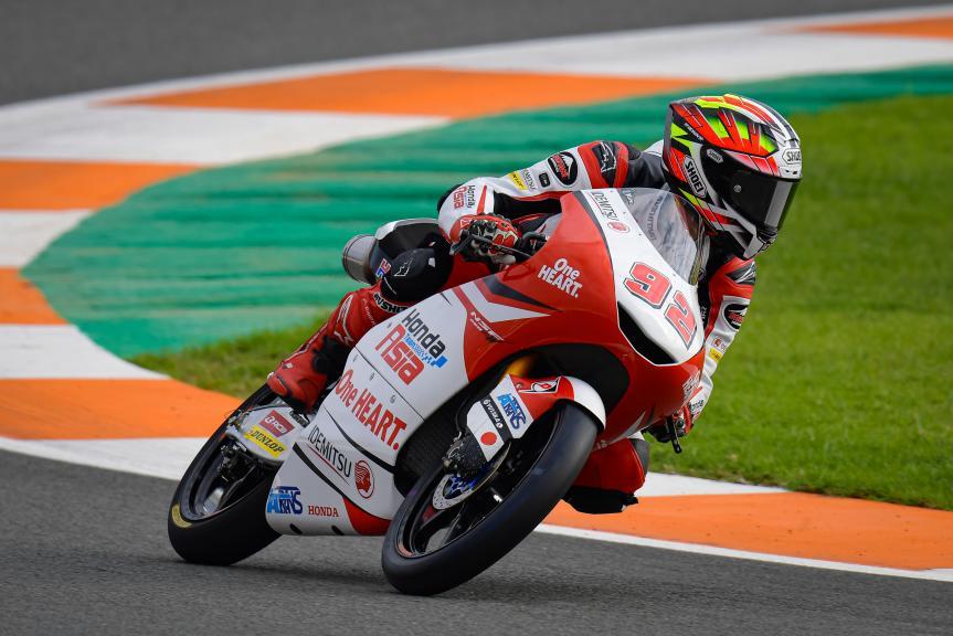 Yukii Kunii, Honda Team Asia, Gran Premio Motul de la Comunitat Valenciana