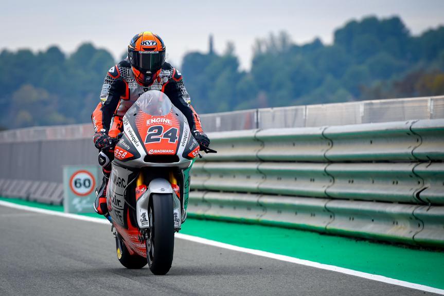 Simone Corsi, Mv Agusta Temporary Forward, Gran Premio Motul de la Comunitat Valenciana