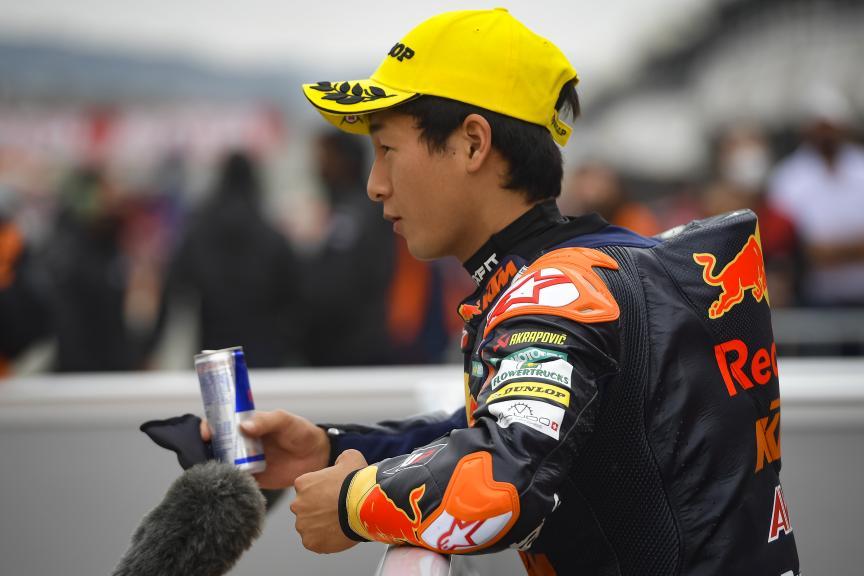 Kaito Toba, Red Bull KTM Ajo, Gran Premio Motul de la Comunitat Valenciana