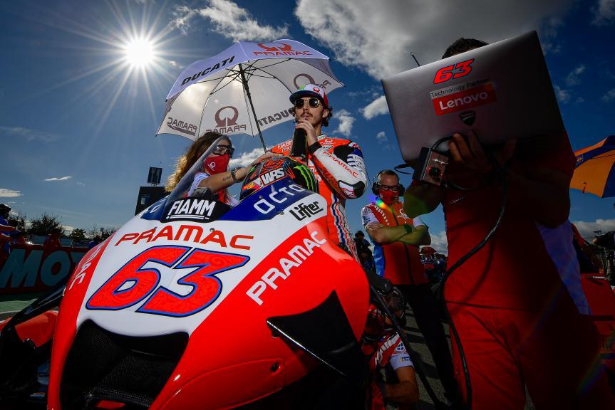 Francesco Bagnaia, Pramac Racing, Gran Premio Motul de la Comunitat Valenciana