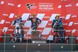 Jorge Martin, Hector Garzo, Marco Bezzecchi, Gran Premio Motul de la Comunitat Valenciana