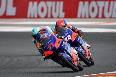GP de Valence – Moto3™ : Avantage Sasaki au warm-up