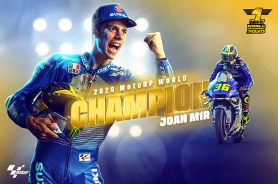 M1R: Introducing your 2020 MotoGP™ World Champion