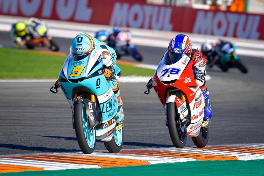 Jaume Masia, Ai Ogura, Gran Premio Motul de la Comunitat Valenciana