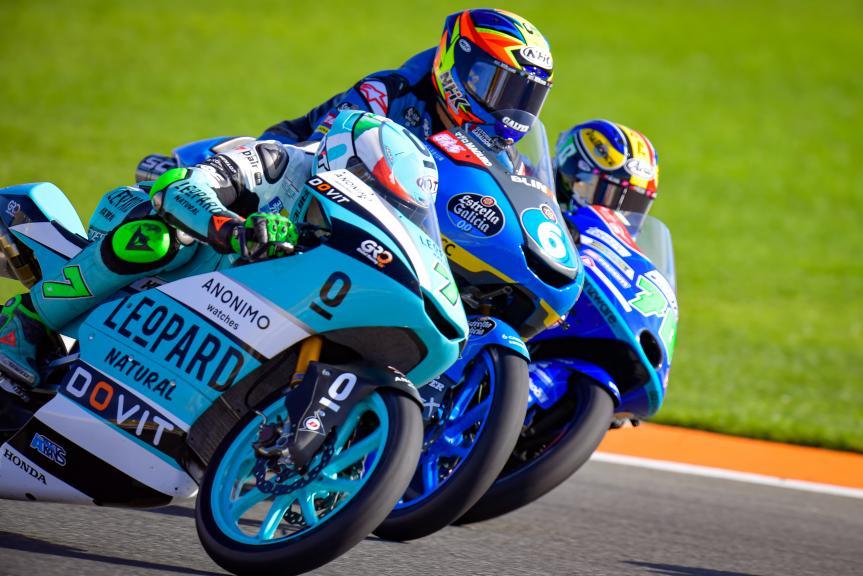 Dennis Foggia, Ryusei Yamanaka, Barry Baltus, Gran Premio Motul de la Comunitat Valenciana