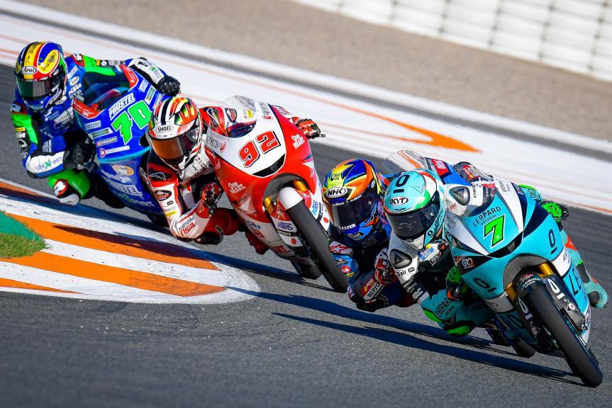Dennis Foggia, Leopard Racing, Gran Premio Motul de la Comunitat Valenciana