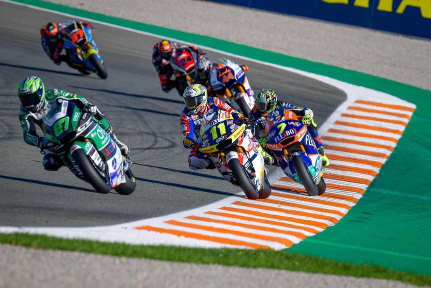 Lorenzo Baldassarri, Nicolo Bulega, Gran Premio Motul de la Comunitat Valenciana