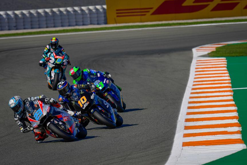 Luca Marini, Marcel Schrotter, Gran Premio Motul de la Comunitat Valenciana