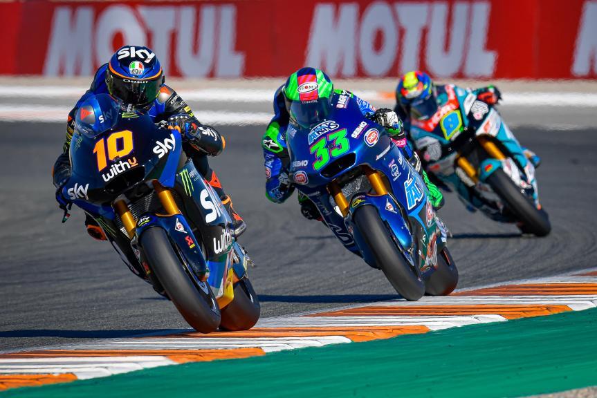 Luca Marini, Enea Bastianini, Gran Premio Motul de la Comunitat Valenciana