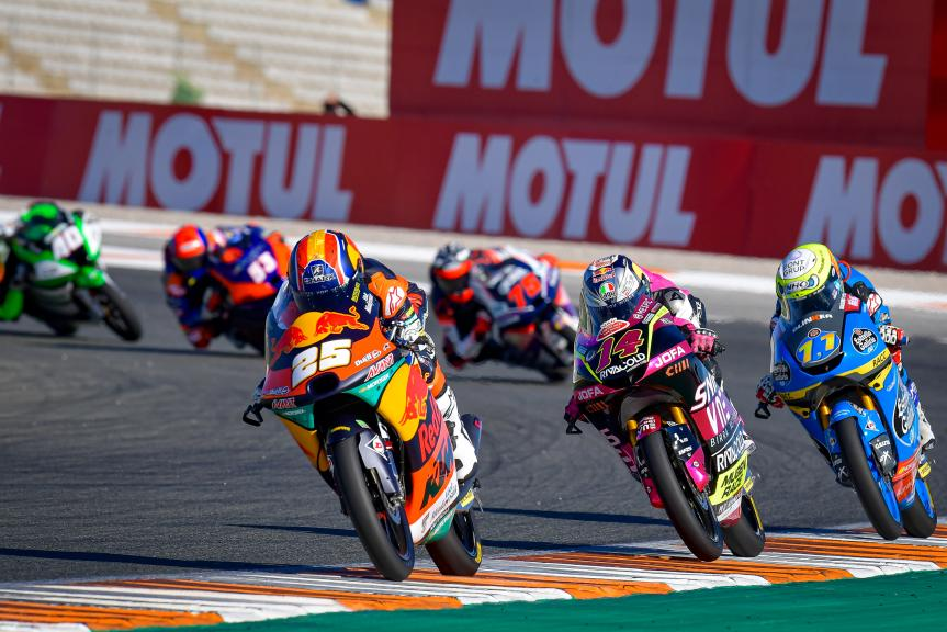 Raul Fernandez, Tony Arbolino, Sergio Garcia, Gran Premio Motul de la Comunitat Valenciana