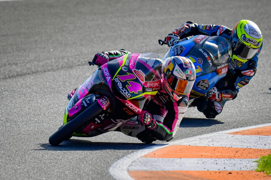 Tony Arbolino, Sergio Garcia, Gran Premio Motul de la Comunitat Valenciana