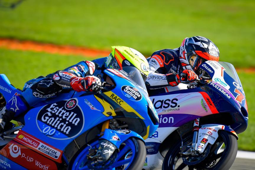 Sergio Garcia, Albert Arenas, Gran Premio Motul de la Comunitat Valenciana