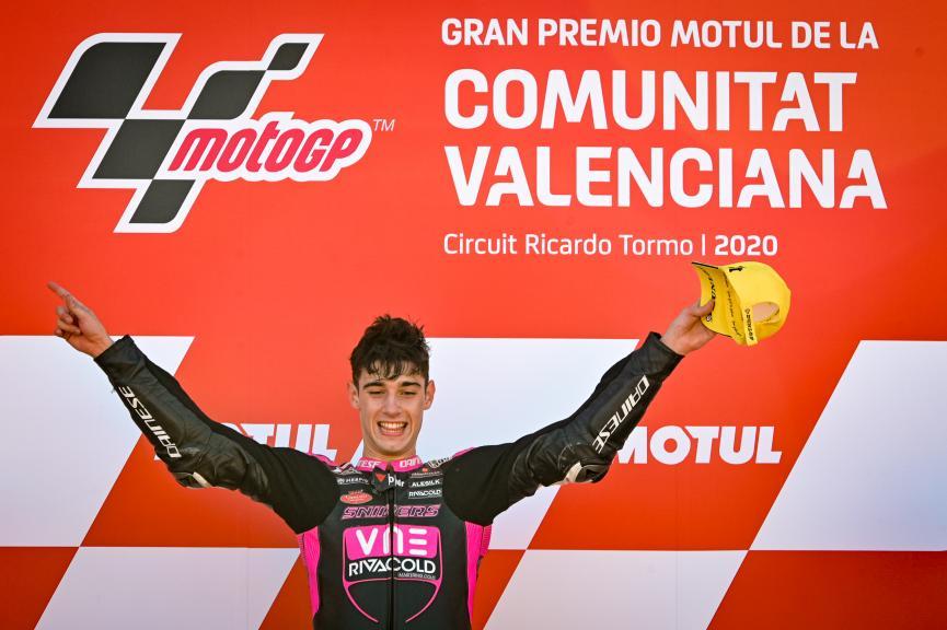 Tony Arbolino, Rivacold Snipers Team, Gran Premio Motul de la Comunitat Valenciana