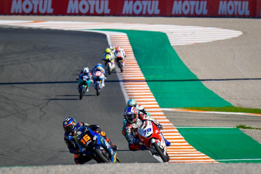 Andrea Migno, Ai Ogura, Gran Premio Motul de la Comunitat Valenciana
