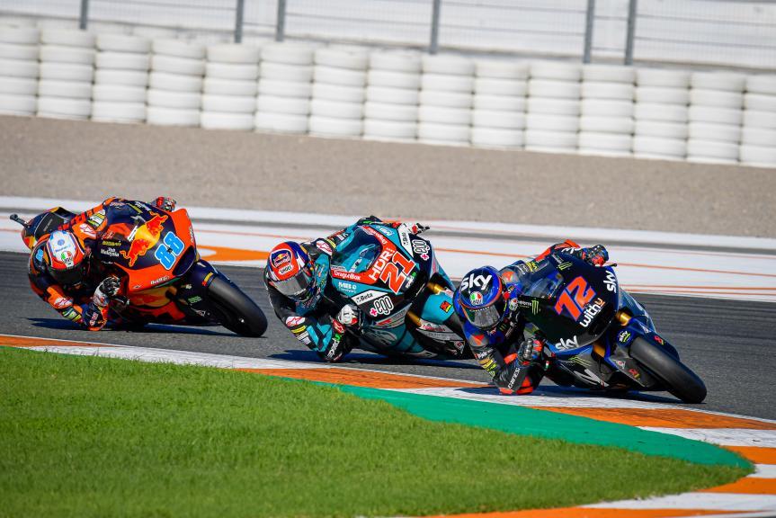 Fabio Di Giannantonio, Marco Bezzecchi, Jorge Martin, Gran Premio Motul de la Comunitat Valenciana