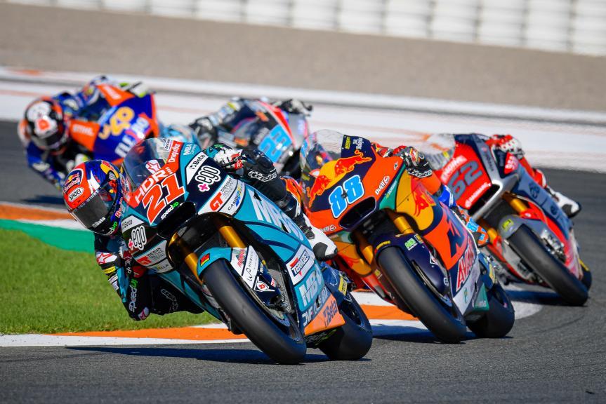 Fabio Di Giannantonio, Jorge Martin, Gran Premio Motul de la Comunitat Valenciana